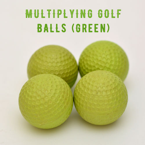 Multiplying Golf Balls (Green)