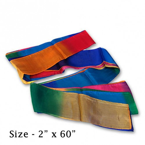 "Silk Streamer Multi-color (2"" x 60"")"