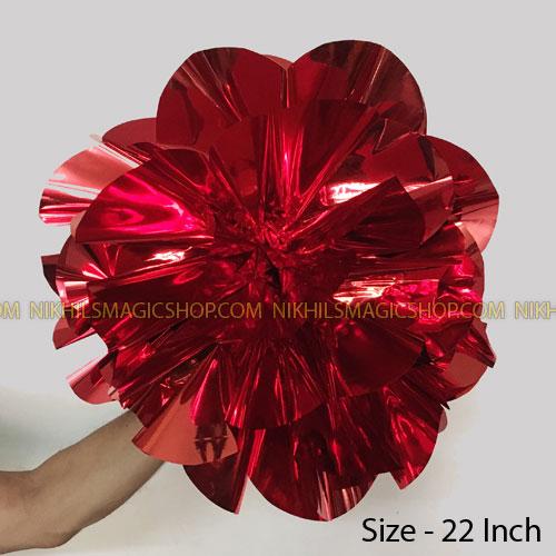 Spring Flower Giant (Mylar) - Red