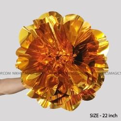 Spring Flower Giant (Mylar) - Yellow