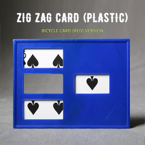 Zig Zag card (Bicycle Card)