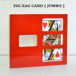 Zig Zag Card (Jumbo)