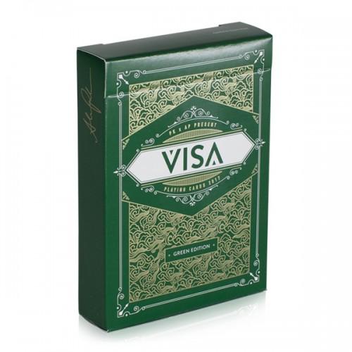 Visa Playing Cards (Green)