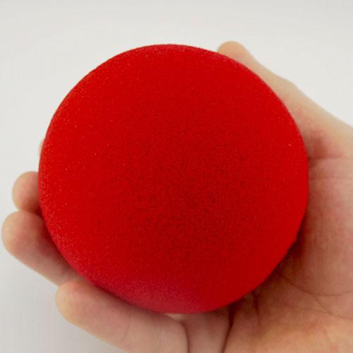 Jumbo 4 inch Super Soft Sponge Ball (Red)