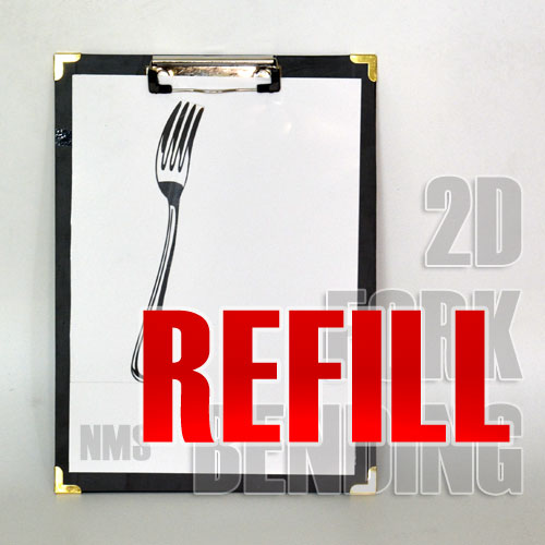 Refill Papers for 2D Fork Bending