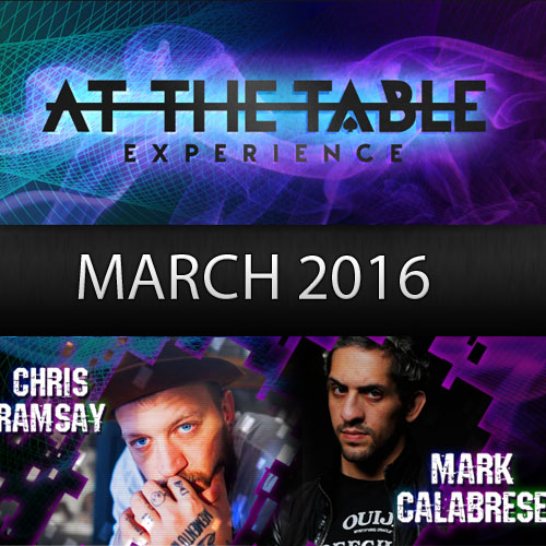 At The Table March 2016 Subscription (VIDEO DOWNLOAD)