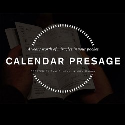 Calendar Presage by Paul Romhany