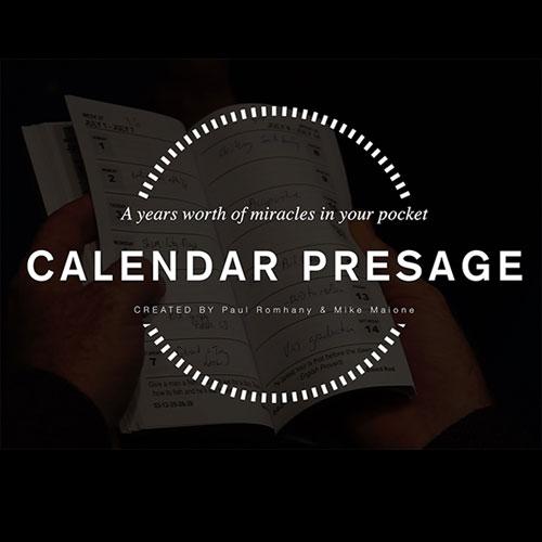 Calendar Presage by Paul Romhany