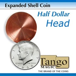 Expanded Shell Half Dollar (Head) D0001 by Tango