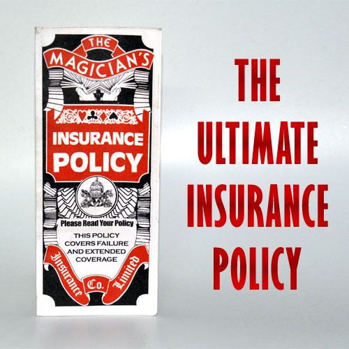 Magician's Insurance Policy - New Model