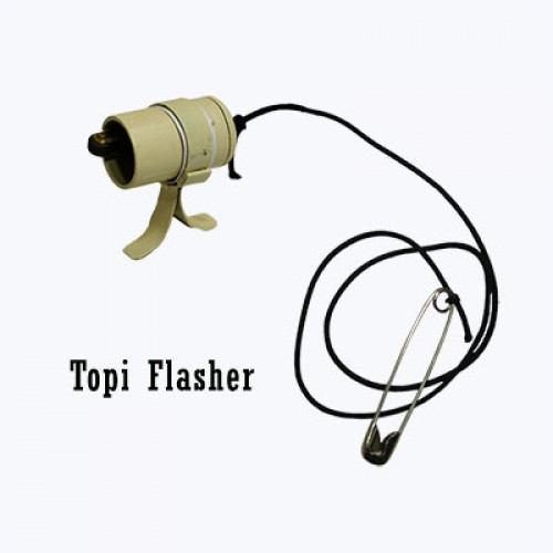 Topi Flasher Gimmick