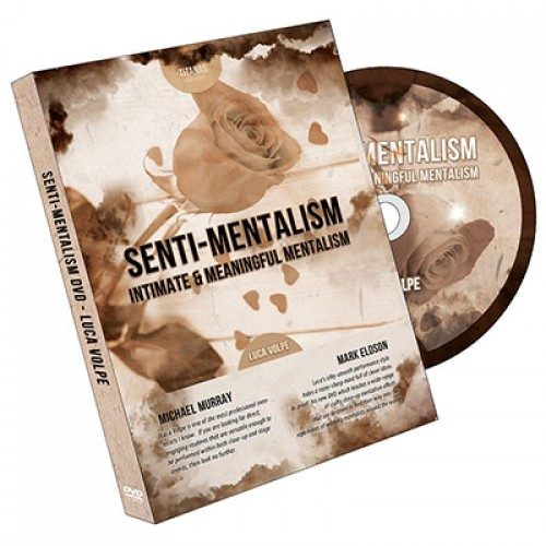 Senti-Mentalism by Luca Volpe and Titanas Magic - DVD
