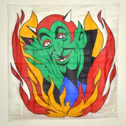 "DEVILS PRODUCTION SILK (36"")"