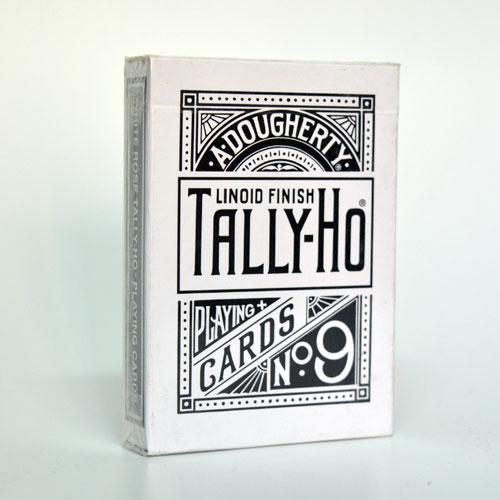 Tally Ho Reverse Fan back (White) Limited Ed.