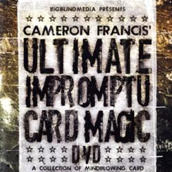 Ultimate Impromptu Card Magic by Cameron Francis (VIDEO DOWNLAOD)