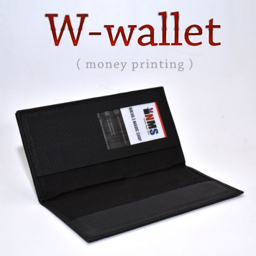 W Wallet with Money Printer