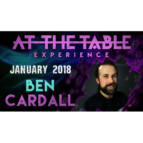 At The Table Live Lecture Ben Cardall January 17 2018 (VIDEO DOWNLOAD)