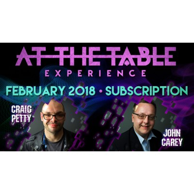At The Table February 2018 Subscription (VIDEO DOWNLOAD)