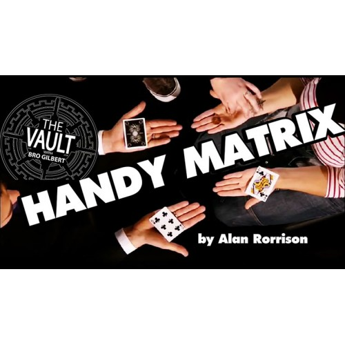 The Vault - Handy Matrix by Alan Rorrison (video Download)