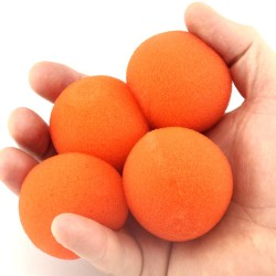 4.5cm Supersoft Sponge Ball ( Orange )