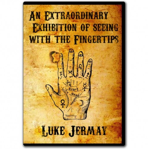 An Extraordinary Exhibition of Seeing with the Fingertips by Luke Jermay (DVD + Equipment)