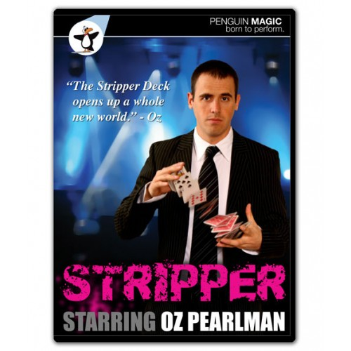 STRIPPER Starring Oz Pearlman (DVD + Deck)