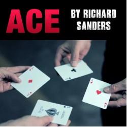 ACE by Richard Sanders ( Gimmick + DVD )