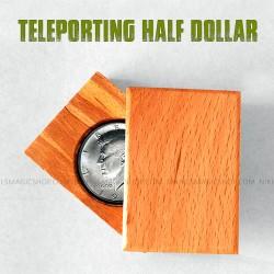 Teleporting Half Dollar