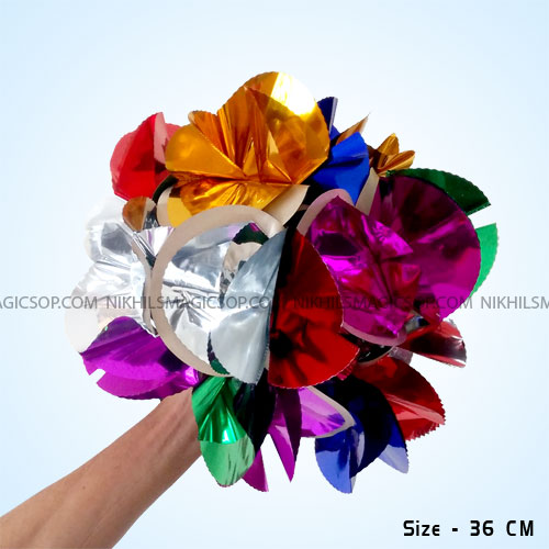 Metallic Flower Bouquet (36cm)