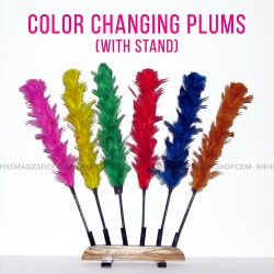 COLOR CHANGING PLUMES (With Stand)
