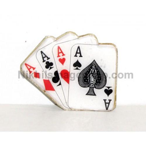 Lapel Pin - Cards