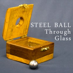 Steel Ball Thru Glass
