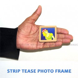 Strip Tease Photo Frame