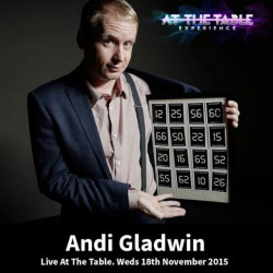At the Table Live Lecture Andi Gladwin November 18th 2015 (VIDEO DOWNLOAD)