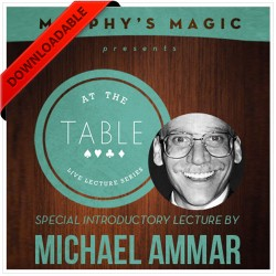At the Table Live Lecture - Michael Ammar 2/5/2014 (video DOWNLOAD)