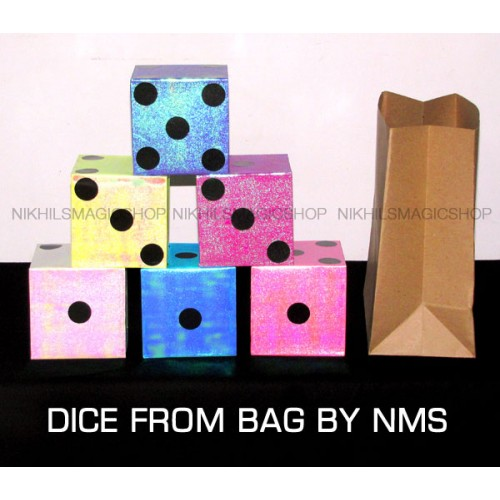 Dice From Bag By NMS