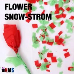 Flower Snow Storm