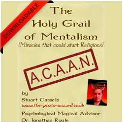 Holy Grail Mentalism by Stuart Cassels and Jonathan Royle (PDF DOWNLOAD)