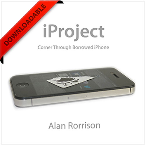 iProject by Alan Rorrison (VIDEO DOWNLOAD)