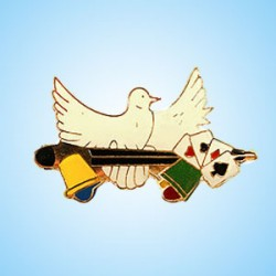 Lapel Pins - Doves