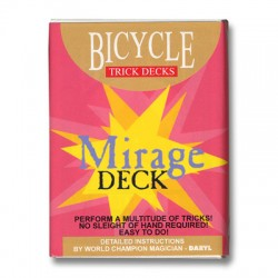 Mirage Deck Bicycle (Blue)