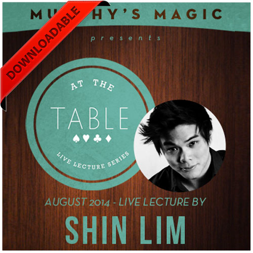 At the Table Live Lecture - Shin Lim 8/20/2014 - video DOWNLOAD