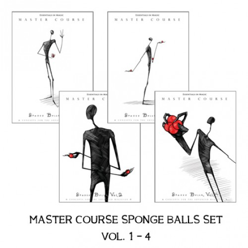 Master Course Sponge Balls Set Vol. 1-4 by Daryl (VIDEO DOWNLOAD)