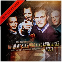 Ultimate Self Working Card Tricks Volume 3 ( VIDEO DOWNLOAD )