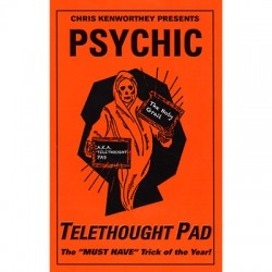 Telethought Pad (Small) by Chris Kenworthey