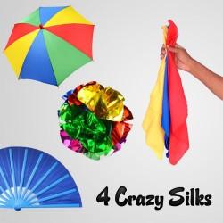 Four Crazy Silks