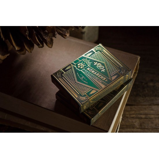 Monarch Playing Cards - Green