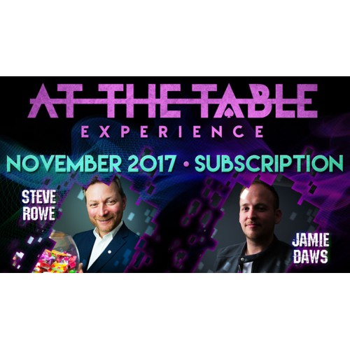 At The Table November 2017 Subscription (VIDEO DOWNLOAD)