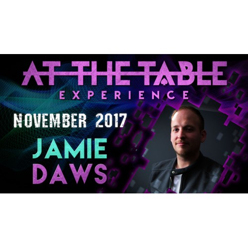 At The Table Live Lecture Jamie Daws November 15th 2017 (VIDEO DOWNLOAD)