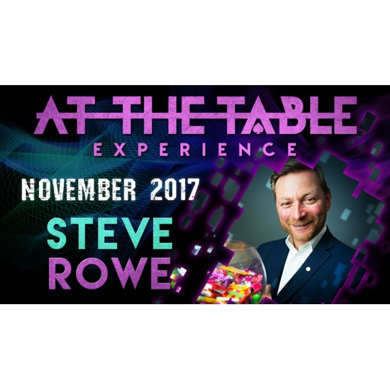 At The Table Live Lecture Steve Rowe November 1st 2017 (VIDEO DOWNLOAD)